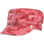 Blue Moon Girls Military Canvas Hat