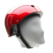 Essentials Metallic Red Helmet