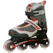 MX-S1000 Red/Grey Childrens Inline Skate