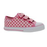 Big School Aurora Pink/White Small Checkerboard Kids Shoe DWPCK1