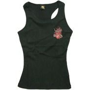 Sacred Heart Girls Vest Top - Black