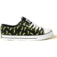 Drunks Up-Chucks Low Black/Banana Yellow Shoe