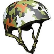 Green Camo Helmet