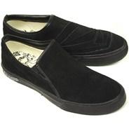 VS1 Creedler Black/Black Slip-On Shoe