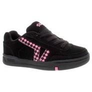 Hallie Black/Aurora Pink Kids Shoe