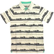 City Stripe S/S Polo Shirt