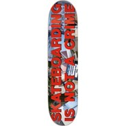 Skateboarding is not a Crime 'Stopper' Skateboard Deck