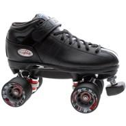 R3 Black Quad Roller Skates