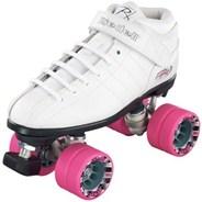 R3 White Quad Roller Skates