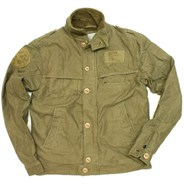 Fleet Sand Herringbone Print Jacket