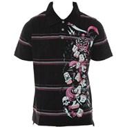 Marcus Garvey S/S Polo Shirt - Black