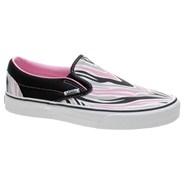 Classic Slip On (Maneater) Black/Prism Pink Shoe