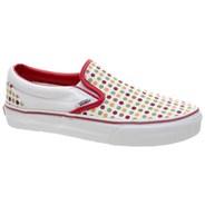 Classic Slip On (Polka Dots) Chilli Pepper/Incence Shoe EYEAVZ