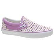 Classic Slip On (Polka Dots) Lavender Mist/Grape Jam Shoe EYEAZA