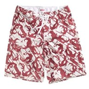C-Law Camo Red Boardshort