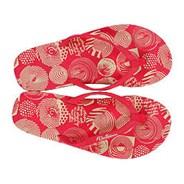 Volca Dot Girls Pink Synthetic Creedler Sandals