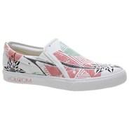 VS1 Low Creedler White Girls Slip-On Shoe