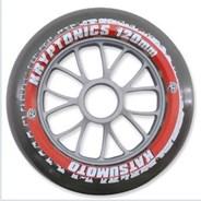 Katsumoto 120mm Race Wheel - Clear/Red
