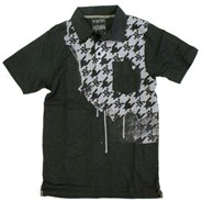 Houndstooth S/S Polo Shirt