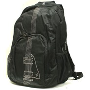 Guitar Print Backpack