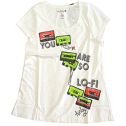 Lo-Fi Melody Girls S/S Tee