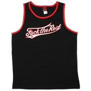 Fuck the Rest Tank - Black/Red