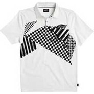 Checkstaposed S/S Polo Shirt - White