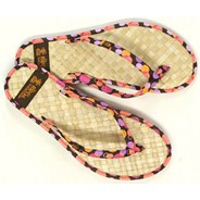 Straw Classic 2 Pink Sandals