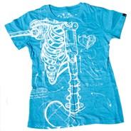 Robo-Wishbone S/S Tee - Electric Blue