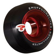Corelite Black/Red 52mm Skateboard Wheels
