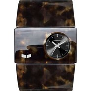Rosewood Acetate Tortoise/Tortoise/Black Girls Watch RSA008