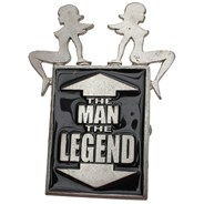 The Man, The Legend Buckle