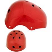 Red Metallic Helmet