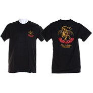 Peralta Cab Dragon II S/S T-Shirt - Black
