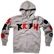 TK Lettered Zip Hoody
