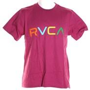 Big Rvca S/S T-Shirt - Magenta