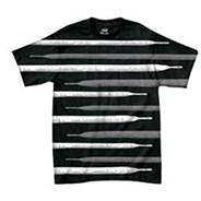 Lace Stripe S/S T-Shirt