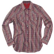 Plaid Red L/S Shirt
