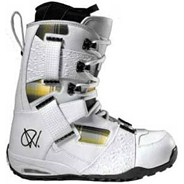 ANDREAS WIIG 09 White/Plaid Snowboard Boots F1L242