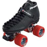 She Devil Black Quad Roller Skates