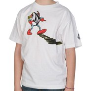 Mr Stone Youths S/S T-Shirt - White