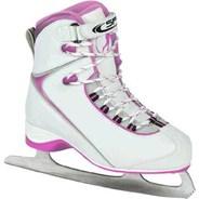 Arrow Ice White/Pink Ice Skates