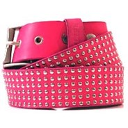 Rounds Pink/Silver Belt