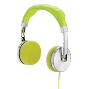 Nomadic Lime Headphones