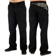 Frickin Art Black Chino Pants
