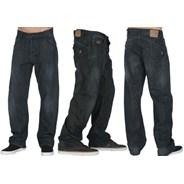 Ergo Black with Brush Jeans