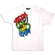 Snakehead Youths S/S T-Shirt - White