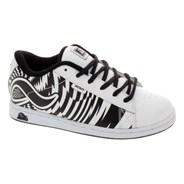 Eugene Kids White/Black/Print Shoe