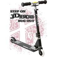 Bug Original Pro Street V3 Scooter Matt Black MS136B