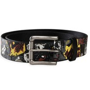Slasher Faux Leather Belt